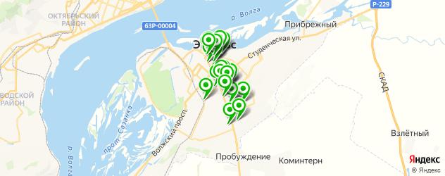 сервисные центры на карте Энгельса