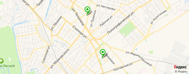 велнесы-клубы на карте Энгельса