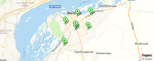 детские поликлиники на карте Энгельса