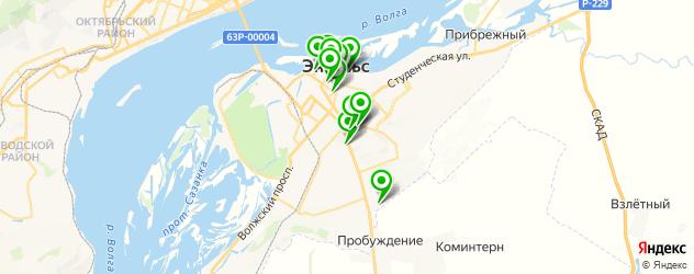 рестораны для дня рождения на карте Энгельса