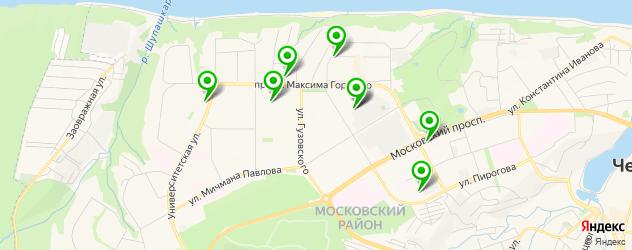 автошколы на карте Северо-Западного