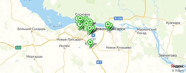 дома быта на карте Чебоксар