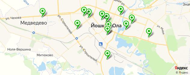 магазины автозвука на карте Йошкар-Олы