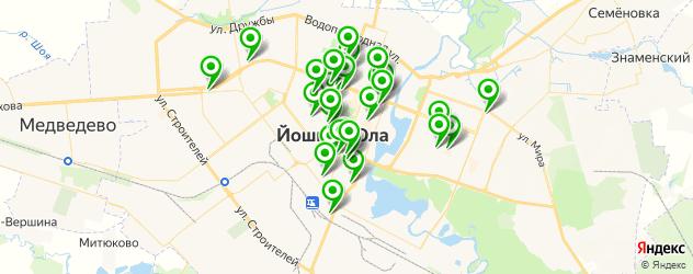 Красота на карте Йошкар-Олы