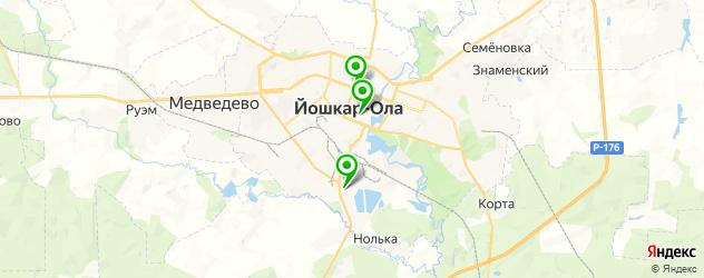 квесты на карте Йошкар-Олы