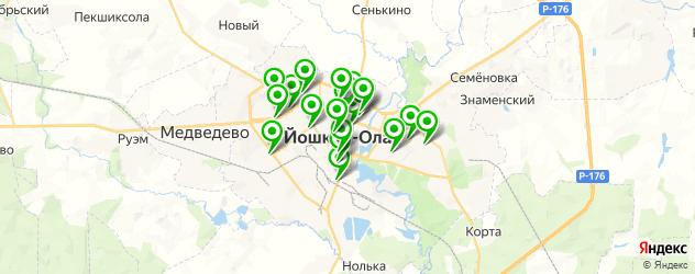 диагностические центры на карте Йошкар-Олы