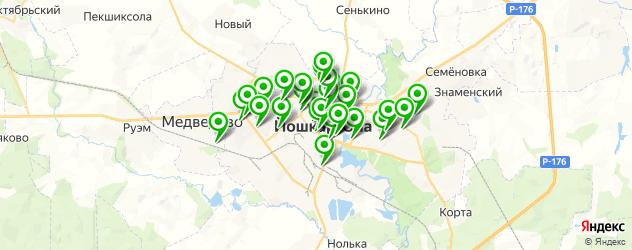 Здоровье на карте Йошкар-Олы