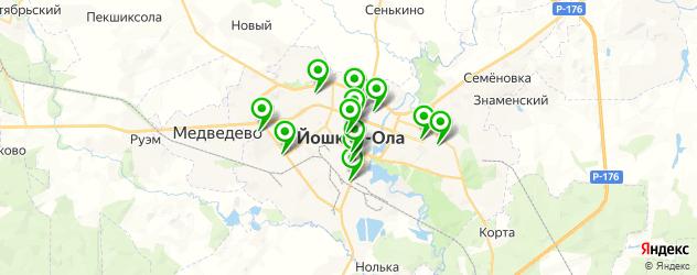кардиология на карте Йошкар-Олы