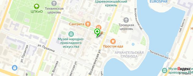 спортивные мастерские на карте Йошкар-Олы