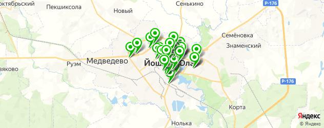 центры косметологии на карте Йошкар-Олы