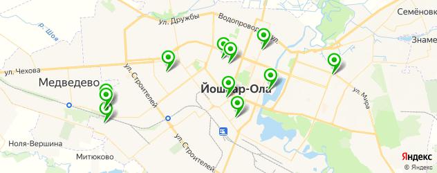 торты на день рождения на карте Йошкар-Олы