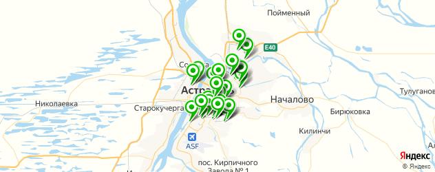 магазины запчастей для спецтехники на карте Астрахани