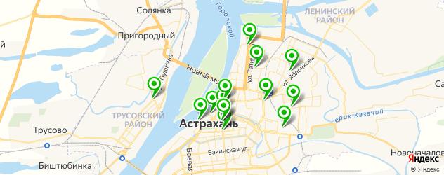 тату салон на карте Астрахани