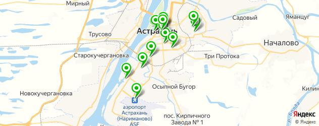 постные меню в ресторанах на карте Астрахани