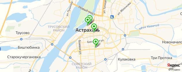 японские рестораны на карте Астрахани