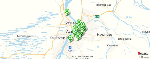 агентства праздников на карте Астрахани