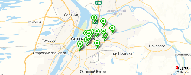 кадровые агентства на карте Астрахани