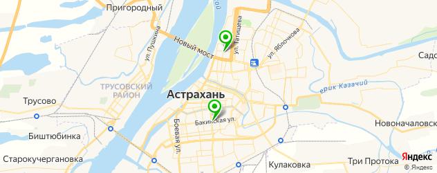 сервисные центры LG на карте Астрахани