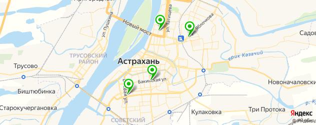 удаление компьютерных вирусов на карте Астрахани