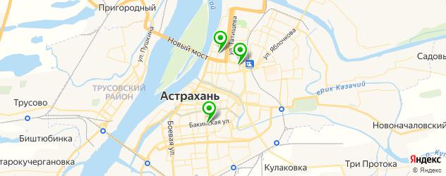 ремонт видеокарт на карте Астрахани
