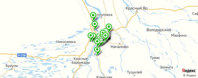 мастерские на карте Астрахани