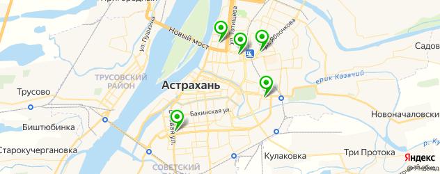 ремонт компьютерной техники на карте Астрахани