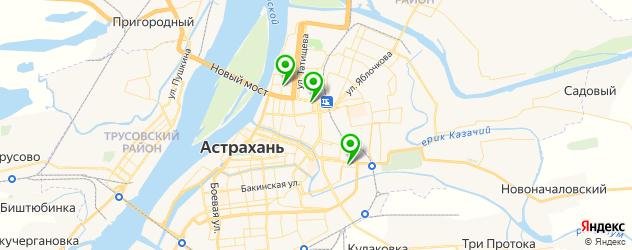 сервисные центры Леново на карте Астрахани