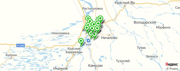 мотошиномонтажи на карте Астрахани