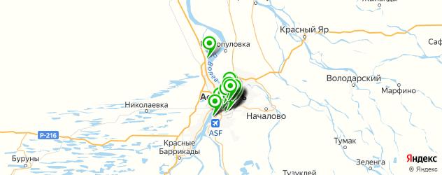 СПА салон на карте Астрахани
