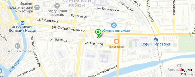 Ремонт телевизоров Пионер на карте Астрахани