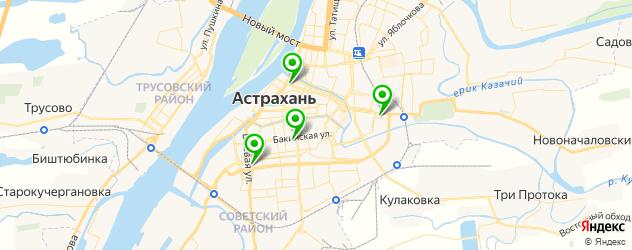 ремонт телевизоров на карте Астрахани