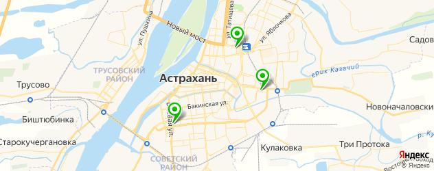 ремонт электросамокатов на карте Астрахани