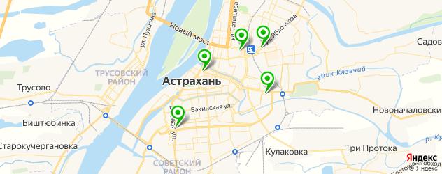 замена стекла смартфона на карте Астрахани