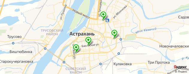 ремонт видеорегистраторов на карте Астрахани