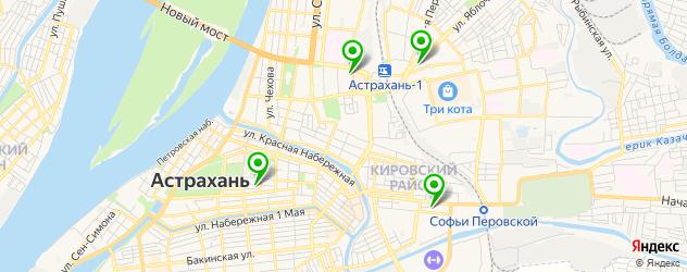 обслуживание принтеров на карте Астрахани