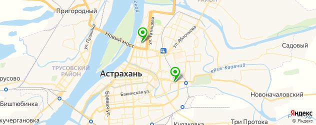 сервисные центры Сименс на карте Астрахани