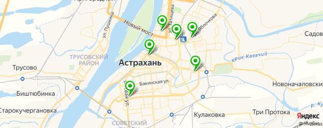 ремонт ноутбуков на карте Астрахани