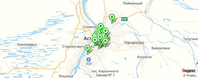 компьютерные помощи на карте Астрахани