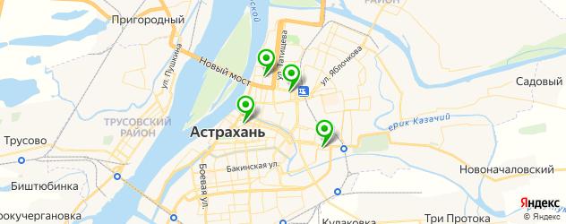 сервисные центры Самсунг на карте Астрахани