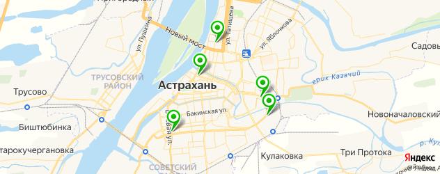 обслуживание компьютеров на карте Астрахани