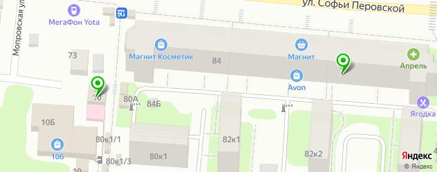 компьютерные помощи на карте улицы Валерии Барсовой