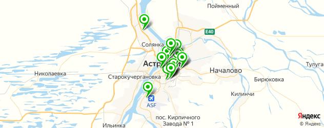 караоке-клубы на карте Астрахани