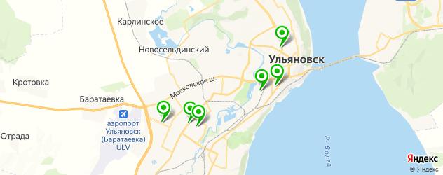 салоны бровей на карте Ульяновска