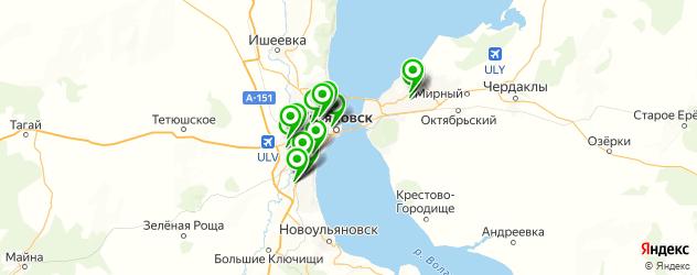 запчасти для ГБО на карте Ульяновска