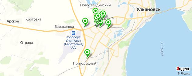 диагностика дизельных двигателей на карте Засвияжского района