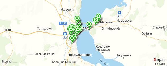 кузовной ремонт на карте Ульяновска