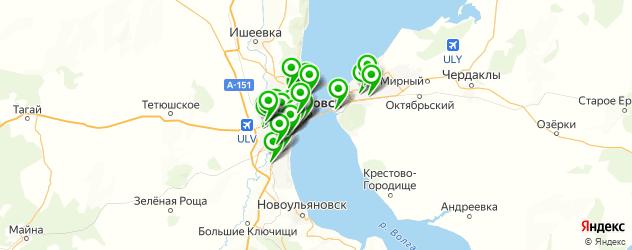 профессиональная полировка автомобиля на карте Ульяновска
