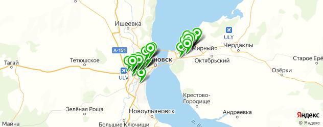 магазины автоаксессуаров на карте Ульяновска