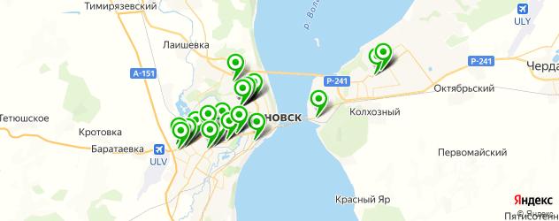 автосалоны на карте Ульяновска