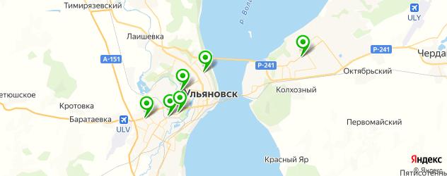 кузовные запчасти на карте Ульяновска
